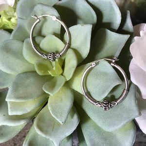 Beautiful Sterling Silver Earrings. Never worn.
